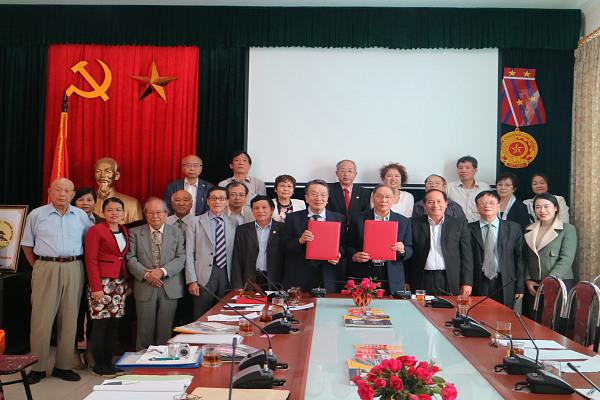Hội Nạn nhân chất độc da cam/dioxin Việt Nam và Hội đồng Chống bom A và bom H Nhật Bản ký Bản ghi nhớ về phối hợp, hỗ trợ lẫn nhau