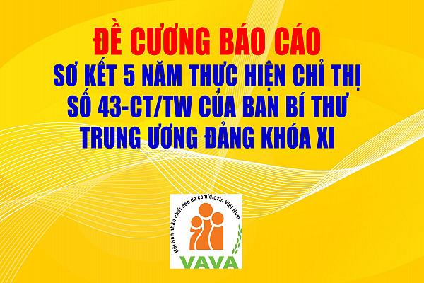 Đề cương báo cáo sơ kết 5 năm thực hiện Chỉ thị  số 43-CT/TW của Ban Bí thư  Trung ương Đảng khóa XI
