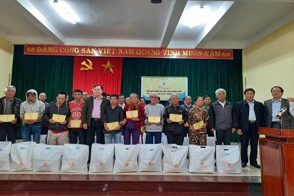 Trung ương Hội NNCĐDC/dioxin Việt Nam thăm và trao quà tại tỉnh Thừa Thiên Huế
