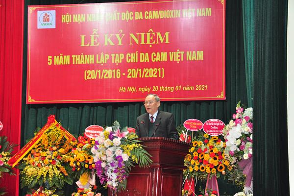 Tổng thuật: Lễ Kỷ niệm 5 năm Ngày thành lập Tạp chí Da cam Việt Nam (20/01/2016 – 20/01/2021)